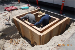 catch basin install 2
